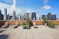 Roof Deck at 10 Park Avenue