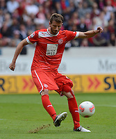 FUSSBALL   1. BUNDESLIGA  SAISON 2012/2013   3. Spieltag  15.09.2012 VfB Stuttgart - Fortuna Duesseldorf     Stelios Malezas (Duesseldorf)  am Ball