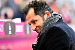 23.02.2019, Allianz Arena, Muenchen, GER, 1. FBL, FC Bayern Muenchen vs Hertha BSC, 23. Runde, im Bild Vor Spielbeginn: Sportdirektor Hasan Salihamidzic FC Bayern M&uuml;nchen // during the German Bundesliga 23th round match between FC Bayern Muenchen and Hertha BSC at the Allianz Arena in Muenchen, Germany on 2019/02/23. EXPA Pictures &copy; 2019, PhotoCredit: EXPA/ Eibner-Pressefoto/ Weber<br /> <br /> *****ATTENTION - OUT of GER*****