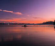Lake Tahoe Scenic Sunset Pier