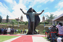 60835848  <br /> The statue of Nelson Mandela is seen at the Union Buildings in Pretoria, South Africa, Dec. 16, 2013. A nine-meter statue of former president Nelson Mandela was unveiled on Monday as part of the Reconciliation Day celebrations, Pretoria, South Africa, Monday, 16th December 2013. Picture by  imago / i-Images<br /> UK ONLY