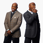 Tiki and Ronde Barber
