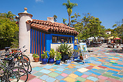 Spanish Village Art Center at Balboa Park San Diego