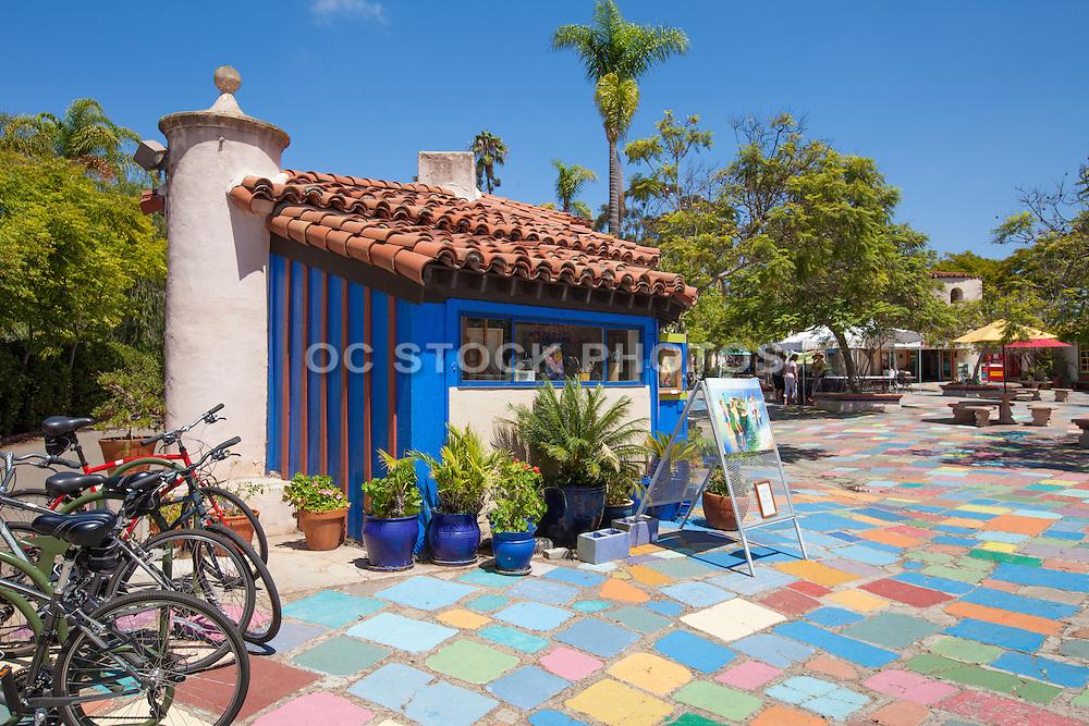 Spanish Village Art Center at Balboa Park San Diego