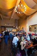 The interior of Andaluz Restaurant, a Tapas Restaurant in Salem, Oregon