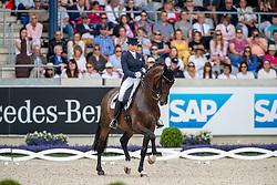 SCHNEIDER Dorothee (GER), Showtime FRH<br /> Aachen - CHIO 2019<br /> Deutsche Bank Preis<br /> Großer Dressurpreis von Aachen<br /> Grand Prix Kür CDIO5* /Freestyle<br /> 21. Juli 2019<br /> © www.sportfotos-lafrentz.de/Stefan Lafrentz