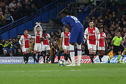 November 5, 2019: AMSTERDAM, NETHERLANDS - OCTOBER 22, 2019: Hakim Ziyech (Ajax) pictured during the 2019/20 UEFA Champions League Group H game between Chelsea FC (England) and AFC Ajax (Netherlands) at Stamford Bridge. (Credit Image: © Federico Guerra Maranesi/ZUMA Wire)
