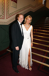 The EARL & COUNTESS OF DERBY at the NSPCC's Dream Auction held at The Royal Albert Hall, London on 9th May 2006.<br />