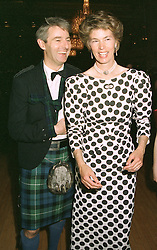 The EARL & COUNTESS OF VERULAM at a ball in London on May 1st 1997.LYB 48