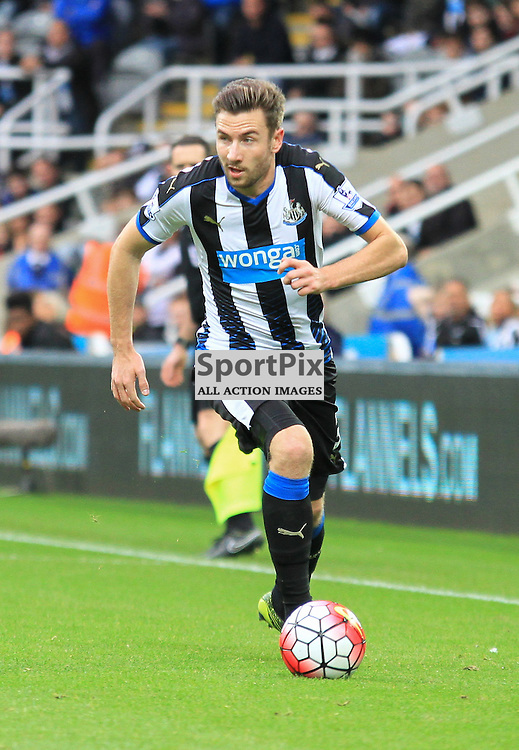 Newcastle United V Norwich City Premier League 18th October 2015; Paul Dummett (Newcastle, 3)  during the Newcastle V Norwich match, played at St. James Park, Newcastle.