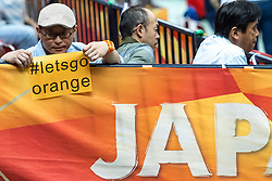 11-10-2018 JPN: World Championship Volleyball Women day 12, Nagoya<br /> Netherlands - Serbia 3-0 / Japanese support for Orange
