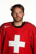 31.07.2013; Wetzikon; Eishockey - Portrait Nationalmannschaft; Julien Vauclair (Valeriano Di Domenico/freshfocus)