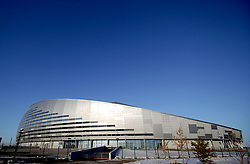 A general view of the Astana Arena ahead of the UEFA Euro 2020 Qualifying, Group I match at the Astana Arena.