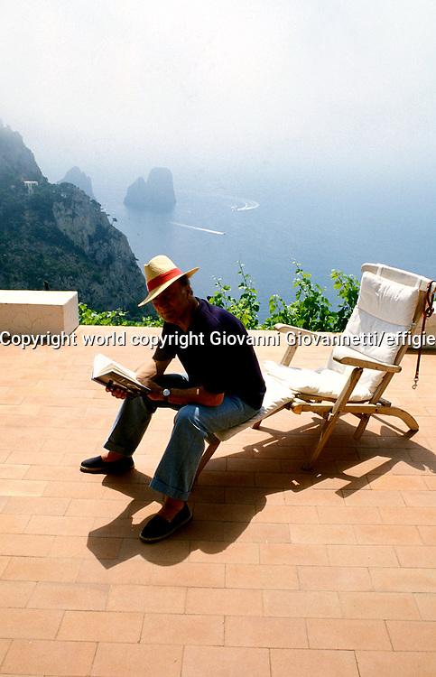 Raffaele La Capria<br />world copyright Giovanni Giovannetti/effigie
