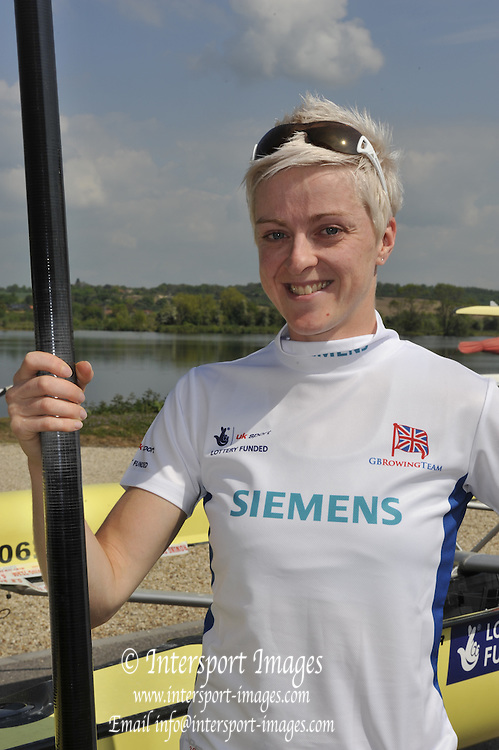 Caversham, Great Britain. Steph CULLEN. GB Rowing media day, GB Rowing Training Centre, Caversham. Tuesday,  18/05/2010 [Mandatory Credit. Peter Spurrier/Intersport Images]