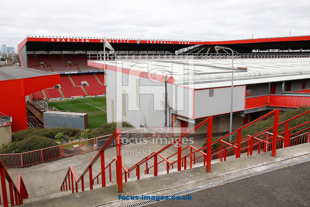 General view of the Valley stadium before the Sky Bet Championship match at The Valley, London<br /> Picture by Andrew Tobin/Focus Images Ltd +44 7710 761829<br /> 05/04/2014