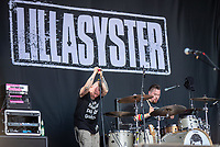 2019-06-06 | Norje, Sweden: Lillasyster performing at Sweden Rock Festival ( Photo by: Roger Linde | Swe Press Photo )<br /> <br /> Keywords: Sweden Rock Festival, Norje, Festival, Sweden Rock Festival, SRF, Lillasyster
