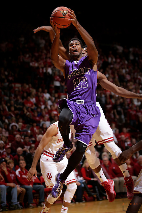 Grand Canyon guard Joshua Braun as Grand Canyon played Indiana in an NCAA college basketball game in Bloomington, Ind., Saturday, Dec. 13, 2014. (AJ Mast/Photo)