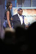 January 12, 2013- Washington, D.C- (L-R) Former Professional WBA Player/Team Owner Lisa Leslie (Honoree) and Actor Anthony Anderson  at the 2013 BET Honors held at the Warner Theater on January 12, 2013 in Washington, DC. BET Honors is a night celebrating distinguished African Americans performing at exceptional levels in the areas of music, literature, entertainment, media service and education. (Terrence Jennings)
