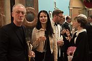 MICHAEL LANDY; GILLIAN WEARING; NICHOLAS CULLINAN, FRANCES VON HOFMANNSTAL,  RA Annual dinner 2018. Piccadilly, 5 June 2018.