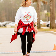 2012 Jingle Bell Run 5k race to support the Arthritis Foundation at Roper St. Francis hospital in Mt. Pleasant, South Carolina.