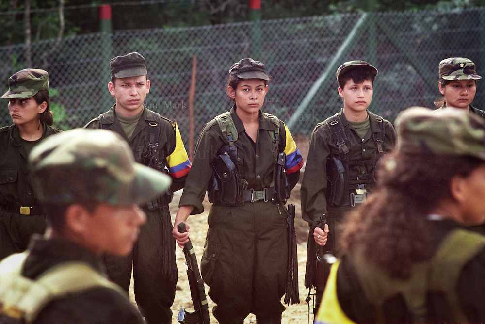 Guerrillas of the Revolutionary Armed Forces of Colombia (FARC) in the Department of Meta.