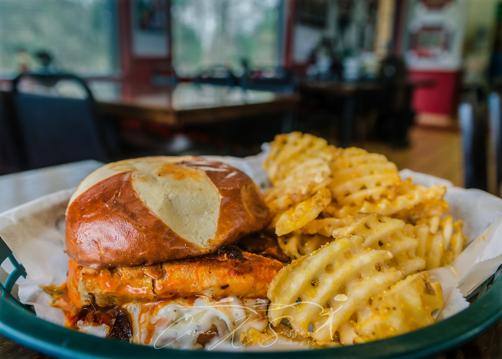 cheeky burger at cheeky s restaurant in gordo alabama carmen k