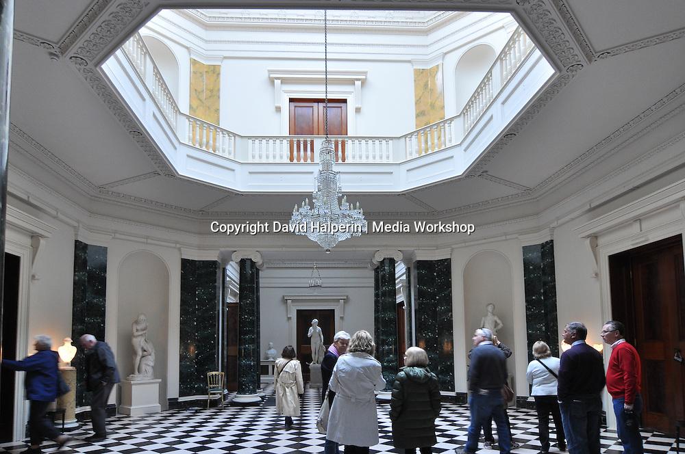 Entrance hall, Mount Stewart