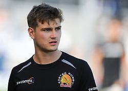 England U19's and Exeter's Jack Maunder looks on.  - Mandatory byline: Alex Davidson/JMP - 07966386802 - 05/09/2015 - RUGBY - Sandy Park Stadium -Exeter,England - Exeter Chiefs v Gloucester Rugby - Pre-Season Friendly