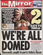 Fireworks over Big Ben, London - December 1999 / The Mirror