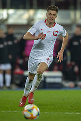 March 21, 2019 - Vienna, Austria - Krzysztof Piatek of Poland in action during the UEFA European Qualifiers 2020 match between Austria and Poland at Ernst Happel Stadium in Vienna, Austria on March 21, 2019  (Credit Image: © Andrew Surma/NurPhoto via ZUMA Press)