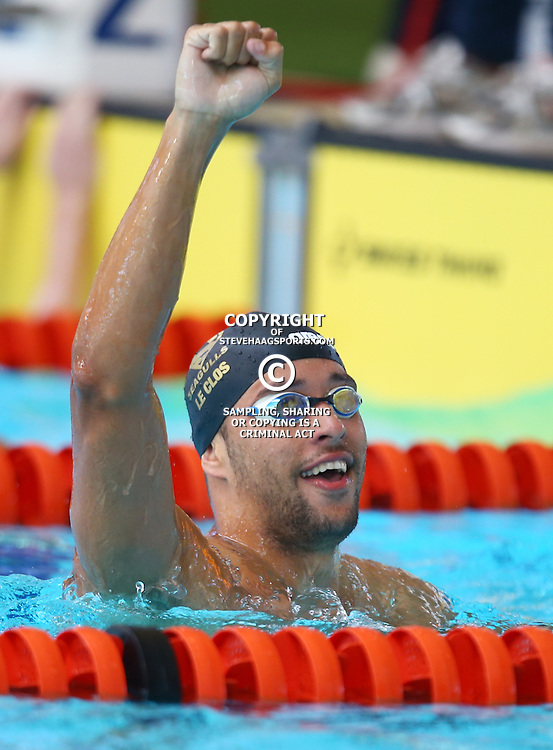 DURBAN, SOUTH AFRICA, February 6 2016 - Chad Le Clos 200m LC Freestyle Men during Day 3  the second&nbsp;leg of the 2016 South African Swimming Grand Prix series at the  Kings Park Swimming Pool Durban South Africa. (Photo by Steve Haag)<br /> Images for social media must have consent from Steve Haag