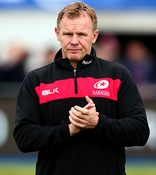 Saracens director of rugby Mark McCall - Mandatory by-line: Robbie Stephenson/JMP - 08/10/2017 - RUGBY - Allianz Park - London, England - Saracens v Wasps - Aviva Premiership