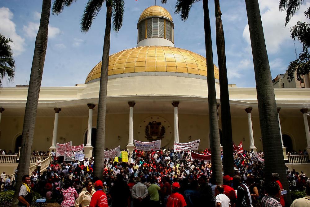 VENEZUELAN POLITICS / POLITICA EN VENEZUELA<br /> El Capitolio, Asamblea Nacional, Caracas - Venezuela 2008 / The Capitol, National Assembly, Caracas - Venezuela 2008<br /> (Copyright © Aaron Sosa)