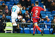 011018 Real Madrid v Numancia, Copa del Rey,  Round of 8