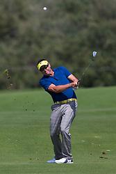 November 15, 2018 - Sydney, NSW, U.S. - SYDNEY, AUSTRALIA - NOVEMBER 15: Robert Allenby (AUS) plays his second shot at Day 1 of The Emirates Australian Open Golf on November 15, 2019, at The Lakes Golf Club in Sydney, Australia. (Photo by Speed Media/Icon Sportswire) (Credit Image: © Speed Media/Icon SMI via ZUMA Press)