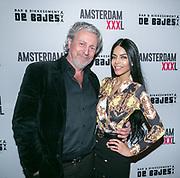 2018-03-20. De Bajes, Amsterdam. Lancering 6e editie van Amsterdam XXXL. Op de foto: Mark Teurlings en Penthesilea