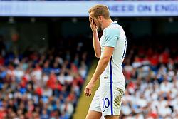 Harry Kane of England looks dejected - Mandatory byline: Matt McNulty/JMP - 07966386802 - 22/05/2016 - FOOTBALL - Etihad Stadium -Manchester,England - England v Turkey - International Friendly