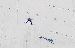 24.02.2017, Lahti, FIN, FIS Weltmeisterschaften Ski Nordisch, Lahti 2017, Nordische Kombination, Skisprung, im Bild David Pommer (AUT) // David Pommer (AUT) during Skijumping of Nordic Combined competition of FIS Nordic Ski World Championships 2017. Lahti, Finland on 2017/02/24. EXPA Pictures © 2017, PhotoCredit: EXPA/ JFK