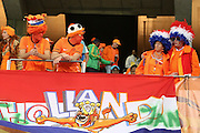 CAPE TOWN, SOUTH AFRICA- Thursday 24 June 2010, Dutch supporters during the match between the Netherlands (Holland) and Cameroon held at the new Cape Town Stadium in Green Point during the 2010 FIFA World Cup..Photo by Roger Sedres/Image SA