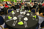VIP Dining during the EFL Sky Bet League 2 match between Forest Green Rovers and Carlisle United at the New Lawn, Forest Green, United Kingdom on 28 January 2020.