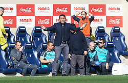 February 3, 2019 - Vila-Real, Castellon, Spain - Javier Calleja of Villarreal during the La Liga match between Villarreal and Espanyol at Estadio de la Ceramica on February 3, 2019 in Vila-real, Spain. (Credit Image: © AFP7 via ZUMA Wire)