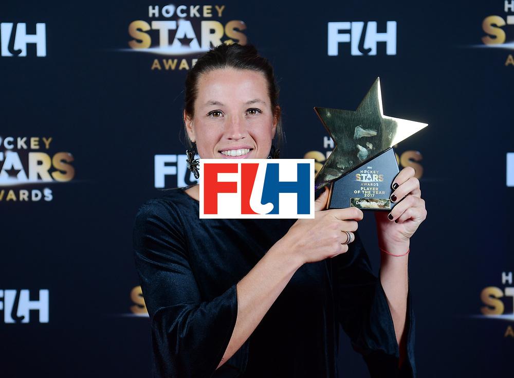 BERLIJN - FIH Hockey Stars Awards<br /> Foto: Female Player of the Year<br /> Delfina Merino<br /> WORLDSPORTPICS COPYRIGHT FRANK UIJLENBROEK