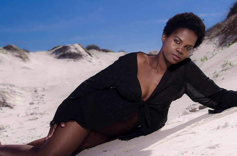 Black female model, Vimbiso photographed by Cape Town Photographer, Patrick King