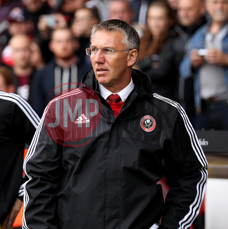 Sheffield United Manager Nigel Adkins - Mandatory by-line: Robbie Stephenson/JMP - 26/07/2015 - SPORT - FOOTBALL - Sheffield,England - Bramall Lane - Sheffield United v Newcastle United - Pre-Season Friendly