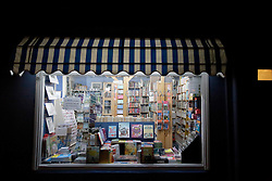 UK ENGLAND FOWEY 19FEB15 - General view of Bookends of Fowey, Cornwall, England, a specialist bookshop on literature by famous English novelist Daphne Du Maurier. Fowey, a small fishing and harbour village was the living place of famous English writer Daphne Du Maurier and many of her novels are based here.<br /> <br /> jre/Photo by Jiri Rezac<br /> <br /> © Jiri Rezac 2015