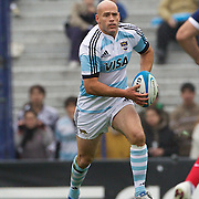 Felipe Contepomi, Argentina, in action during the Argentina V France test match at Estadio Jose Amalfitani, Buenos Aires,  Argentina. 26th June 2010. Photo Tim Clayton...