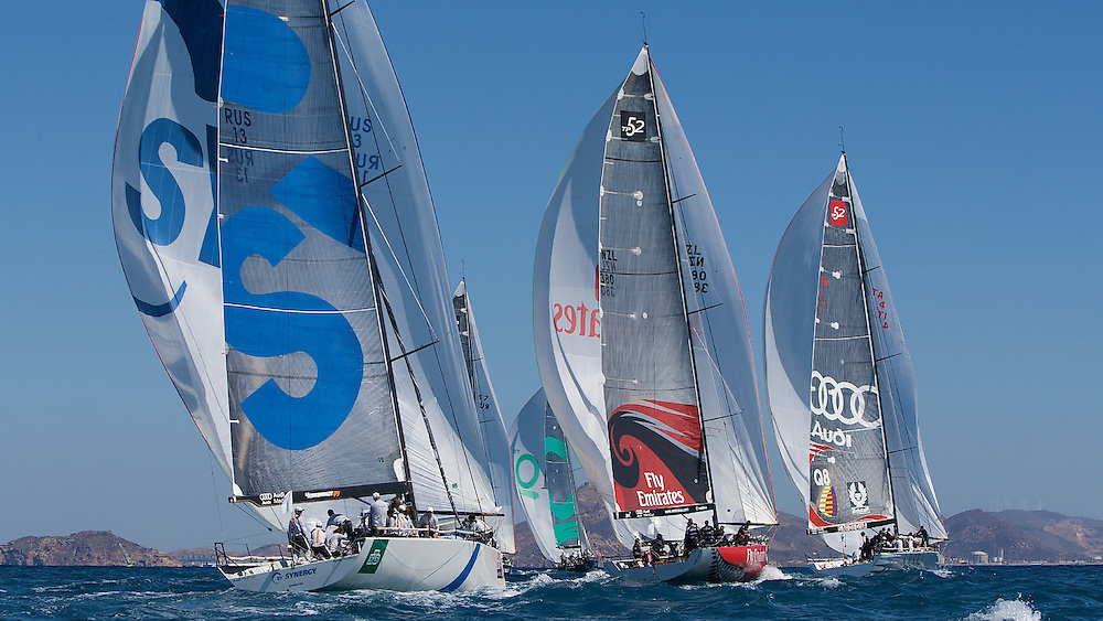 SPAIN, Cartagena, AUDI MedCup, 18th Sept 2009,  Caja Mediterraneo Region of Murcia Trophy, TP52, Fleet.