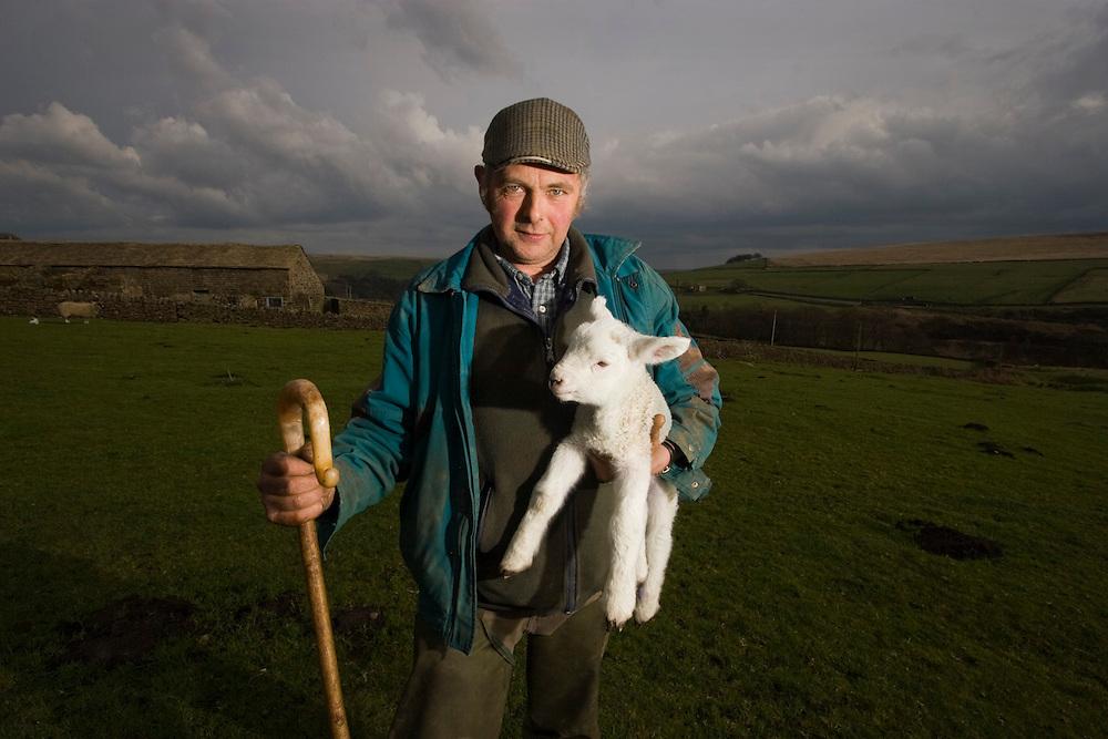 Brian Lund - farmer - Walshaw Head