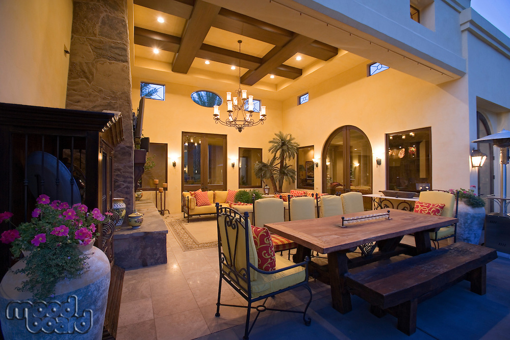 Luxury interior design lounge